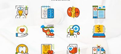 Medicine And Healthcare – Flat Animated Icons