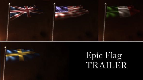 Download Epic Flag Trailer - FREE Videohive