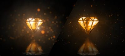 Gold Glossy Luxury Logo