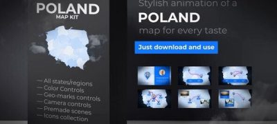 Poland Map - Republic of Poland Map Kit