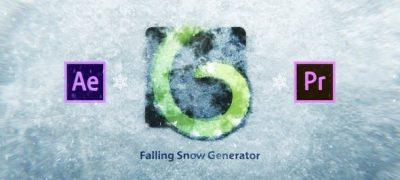 Snow Falling Generator