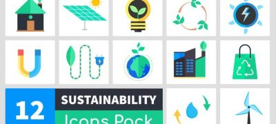 Sustainability Icons Pack