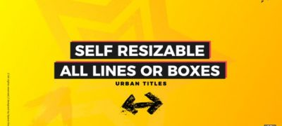 Box Titles - Self Resizing | FCPX or Apple Motion