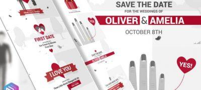 Save The Date - Video Wedding Invitation