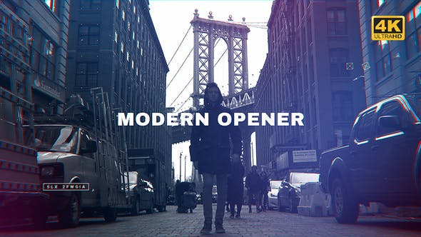 Download Modern Opener - FREE Videohive