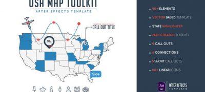 Usa Map Toolkit