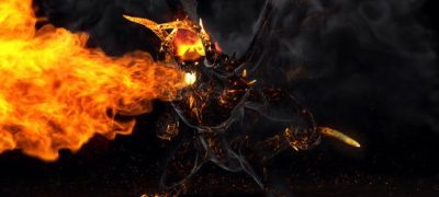 Flame Demon - Fire Logo