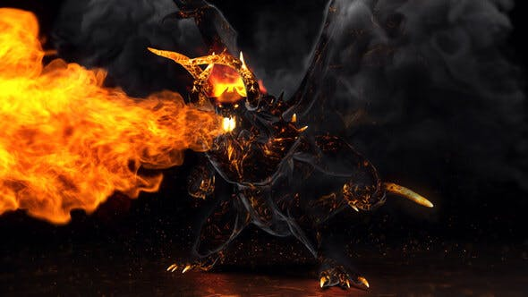 Download Flame Demon - Fire Logo - FREE Videohive