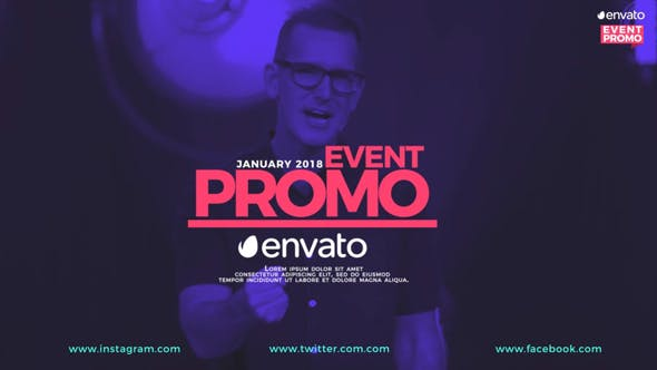 Download Event Promo - FREE Videohive