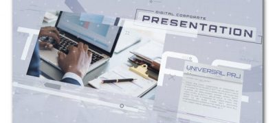 Digital Corporate Presentation Slideshow