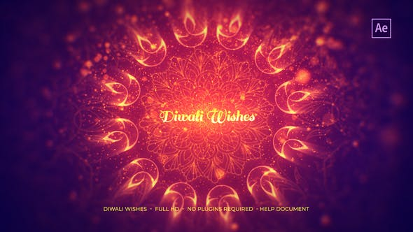 Download Diwali Wishes - FREE Videohive