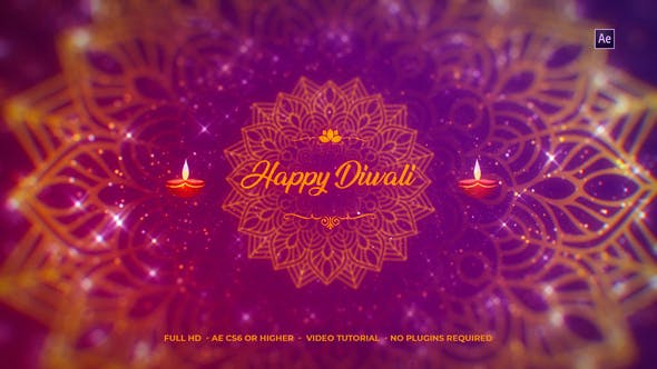 Download Diwali Wishes Logo - FREE Videohive