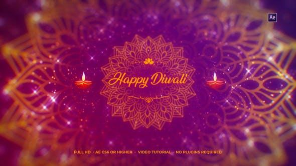 Download Diwali Wishes Logo - FREE Videohive