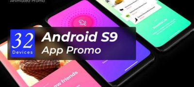 Android App Promo - Phone Mockup