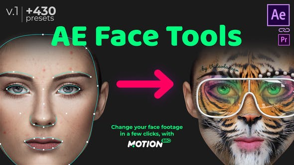 Download AE Face Tools - FREE Videohive