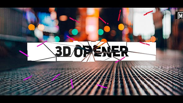 Download Stomp 3D Opener - FREE Videohive