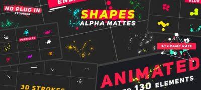 Animated Elements Shapes