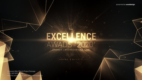 Download Excellence Awards Opener - FREE Videohive