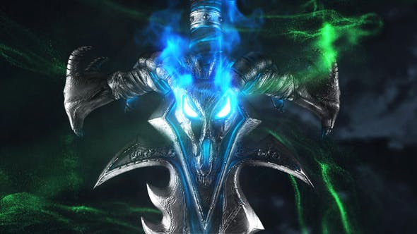 Fantasy Sword Logo Reveal 25027411 Videohive