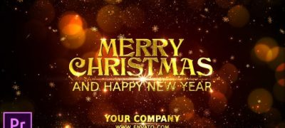 Merry Christmas Wishes - Premiere Pro