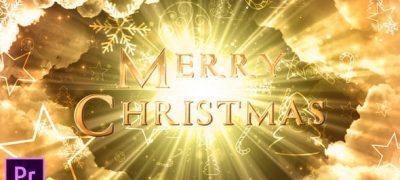 Heavenly Christmas Titles - Premiere Pro