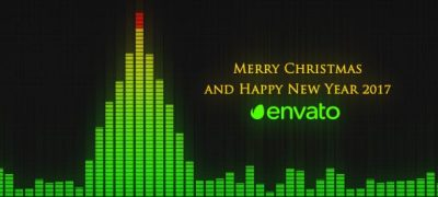 Audio Meter Christmas Wishes