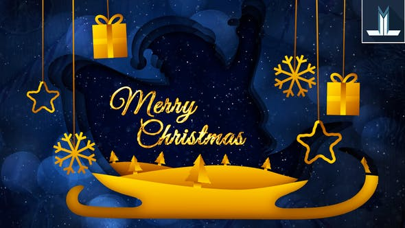 Download Merry Christmas Greeting Card - FREE Videohive