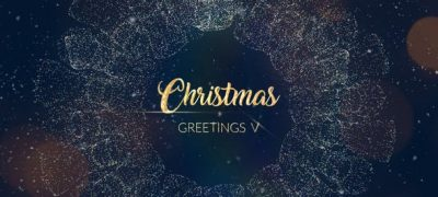 Christmas Greetings V | After Effects Template