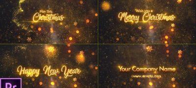 Christmas Greetings - Premiere Pro