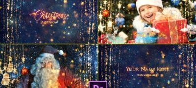 Christmas Slideshow - Premiere Pro