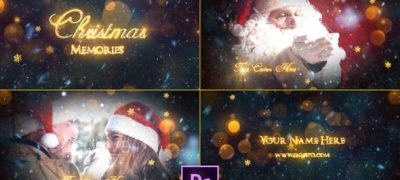 Christmas Memories Slideshow - Premiere Pro
