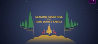 Parallax Christmas Greetings - Premiere Pro