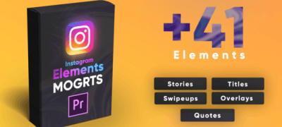 Instagram Elements Pack-MOGRT