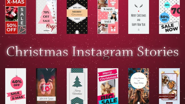 Download Christmas Instagram Stories - FREE Videohive
