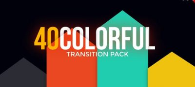 Modern Colorful Transitions Pack