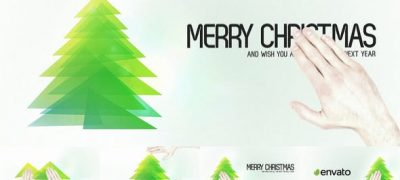 Touch Christmas Video Greeting Card