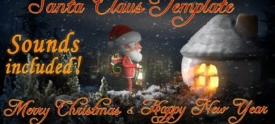 Santa Claus - Merry Christmas and Happy New Year