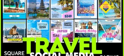 Social Media Promo - TRAVEL