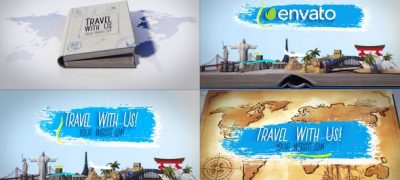 Travel Book Logo Reveals