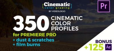 Cinematic Color Presets - Premiere Pro