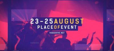 Music Event Promo Opener