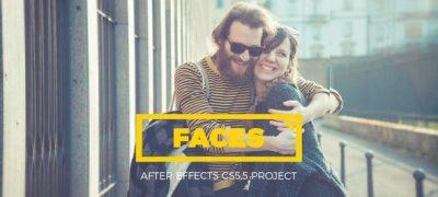 Faces - Parallax Kaleidoscope Gallery