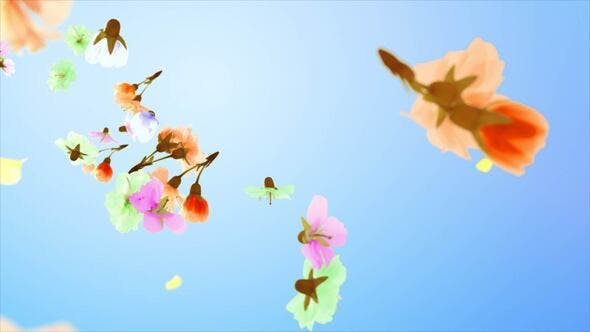 Download Flowers and Petals Logo - FREE Videohive