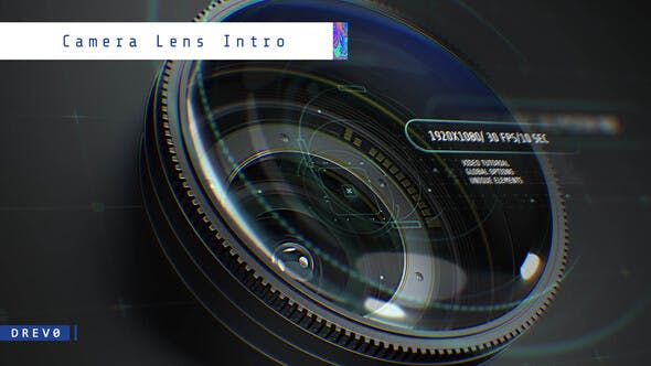 Download Camera Lens Intro - FREE Videohive
