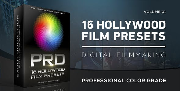 Download Hollywood Film Color Grading - FREE Videohive