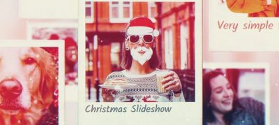 Christmas Photo Frames Slideshow