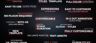 Glitch Titles // Essential Graphics