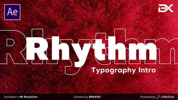 Download Rhythm Typography Intro - FREE Videohive